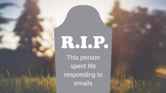 Will you be remembered for responding to thousands of emails?